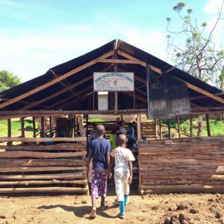 The Church at Tarime town meets here