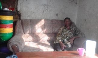 Pastor Augustino, the pastor at Nyegezi UMC