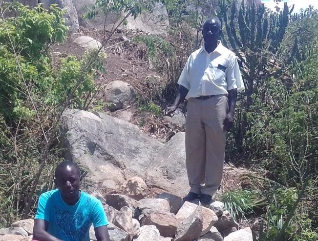 The Mzee la Kanisa, top right