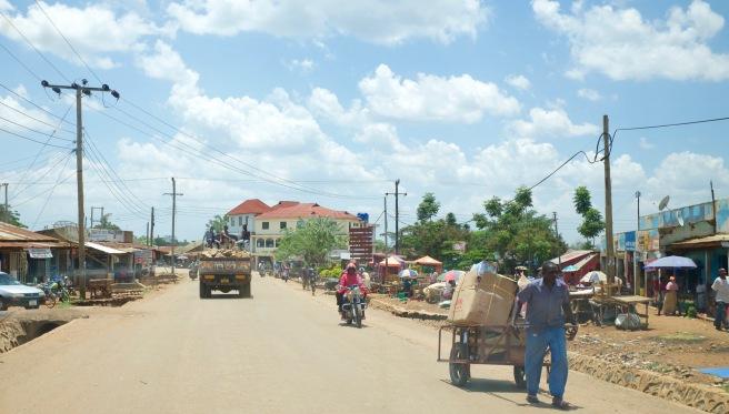 Tarime streets